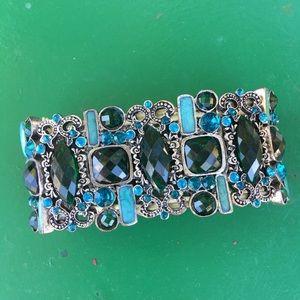 Jewelry - Faux crystals pavé bracelet